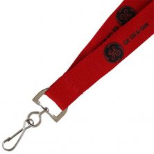 Promotional 20mm Flat Polyester Lanyards for exhibitions