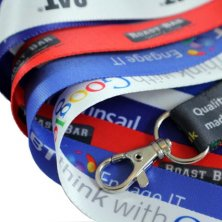 Branded lanyards for offices