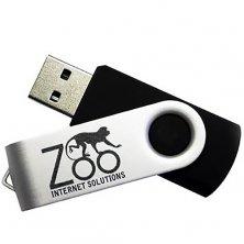 Custom branded 8GB Express Twist USB Flashdrives