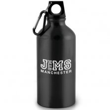 Customised metal sports bottle with company logo