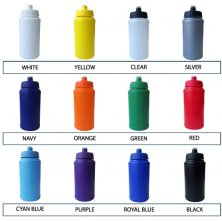 Printed water bottles for sporting events