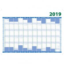 Personalised A3 Wall Planners for offices