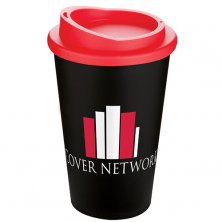 Personalised Americano cups with company branding
