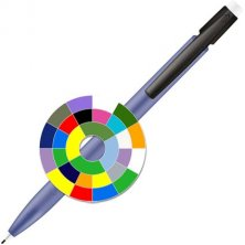 Branded pencil for business events