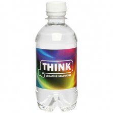 Promotional Bottled Drinking Water printed with company logo