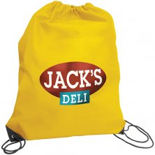 Promotional Budget Nylon Drawstring Bags for universities