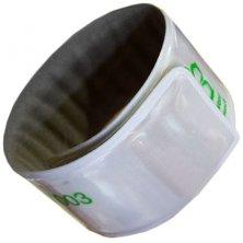 Promotional Children's Reflective Slap Wrap Wristbands with logo