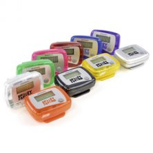 Custom printed pedometers for fitness campaigns