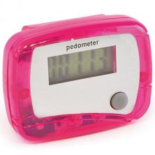 Promotional step counters for schools