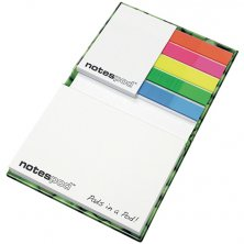 Promotional Combi Book Note for workplaces