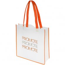 Promotional Convention Tote Bags with company logos