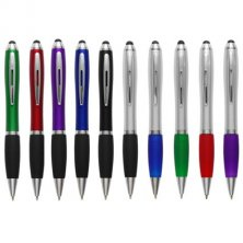 Promotional curvy pens  with company logo