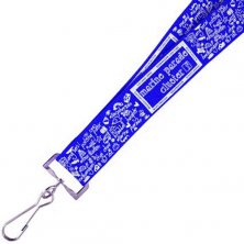 Promotional 25mm Dye Sublimation Lanyards branded for events