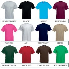 Branded T-shirts for events