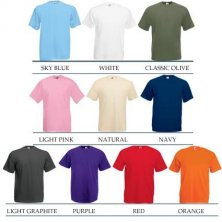 Promotional T shirts for business gifts