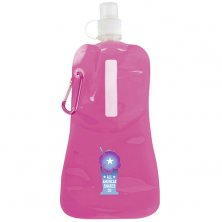 Pink corporate branded water bottles council merchandise
