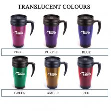 Custom travel mugs for universities