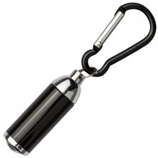 Custom Branded Carabiner LED Light Keyring for merchandise
