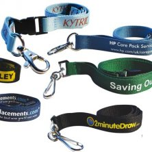 Custom Branded Polyester Lanyards with Company Logo
