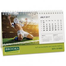 Promotional Panorama Easel Calendar for offices