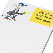 Promotional notepads for councils