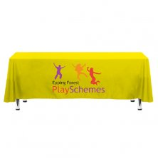 Promotional Rectangular Polyester Tablecloths marketing ideas