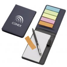 Promotional Sticky Flag and Jotter Notebook Sets for workplaces