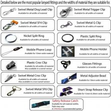 Corporate Branded Lanyard Accessories and Fittings