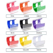 corporate printed desk phone stands business logo