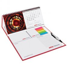 Custom printed calendar for company gifts