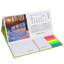 Branded calendar for workplace