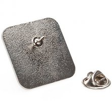 Branded Custom Shaped Badges with Clutch Pin Fittings