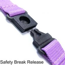 Corporate Branded Lanyards for Business with Safety Break