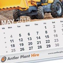 Corporate printed desk calendars