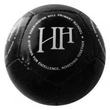 Custom small footballs printed with company logo