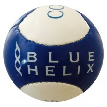 Football merchandise branded with logo