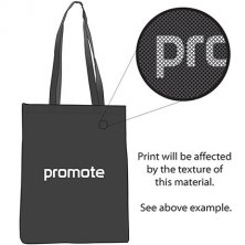 Printed company bags with business artwork