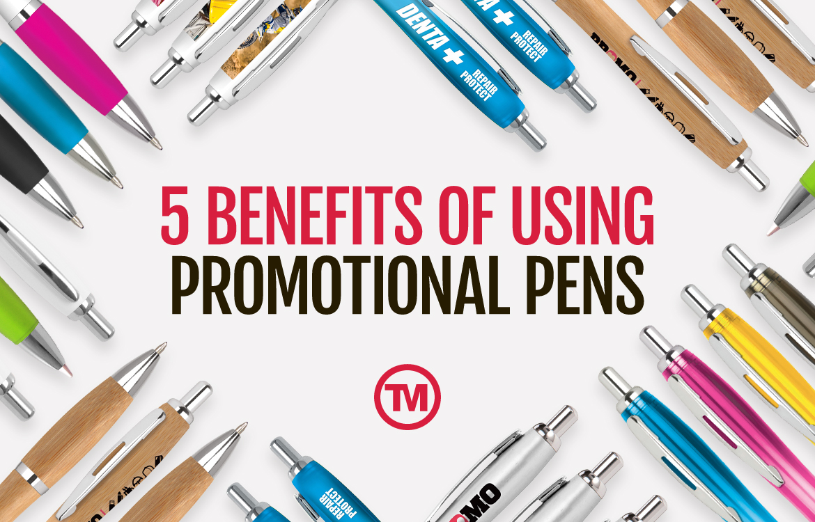 5 Benefits of Using Promotional Pens for Your Marketing Campaign