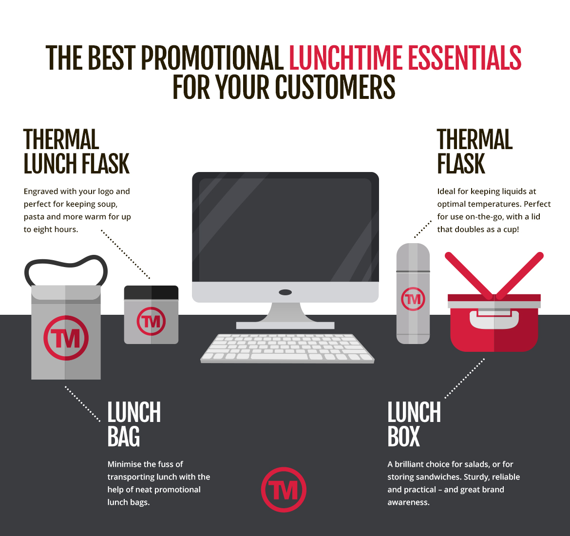 How promotional products can improve lunchtimes