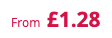 from £1.28