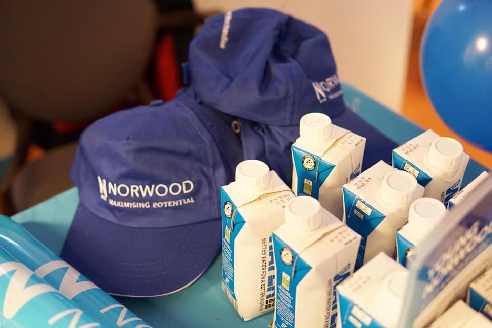 Promotional caps for Norwood