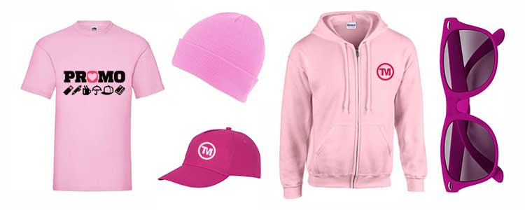 best pink promotional products