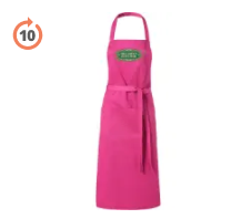 Full Length Apron in Pink