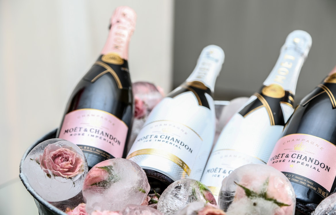 Promotional Champagne For Champagne Day