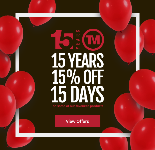 Celebrating 15 years of promotional merchandise business Total Merchandise