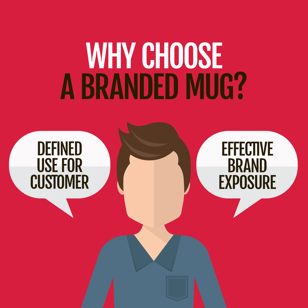 Infographic - Why choose a branded mug?