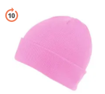 Beanie Hats in Pink