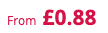 from £0.88