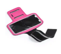Sports Phone Armbands in Pink