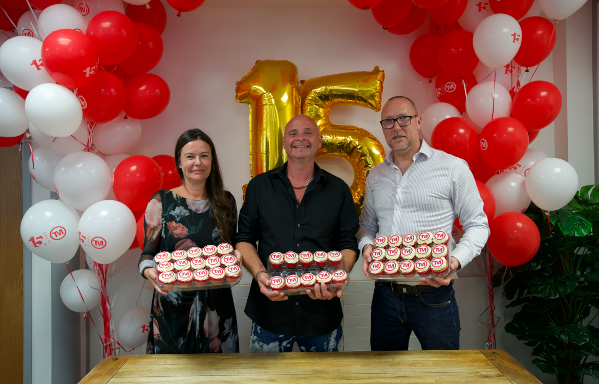 Total Merchandise celebrates 15th birthday
